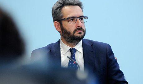 El ministre de Finances, Eric Jover