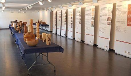 Exposició de peces dels tornersMax Martín i Roger Pasqual