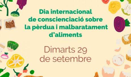 Cartell del Dia Internacional sobre la conscienciació de la pèrdua i el malbaratament d'aliments
