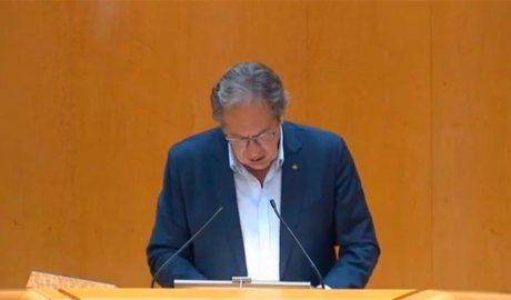 Intervenció de Miquel Caminal al Senat (ERC)