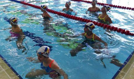 Equip de natació artística
