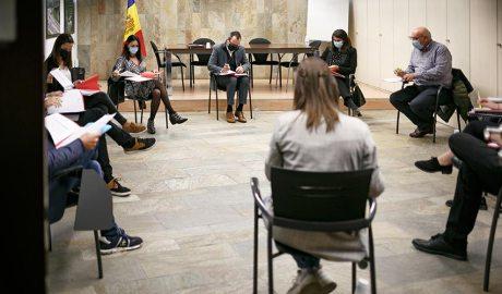 Reunió de la Taula Permanent de Joventut
