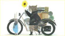 Il·lustració del llibre el conill i la moto