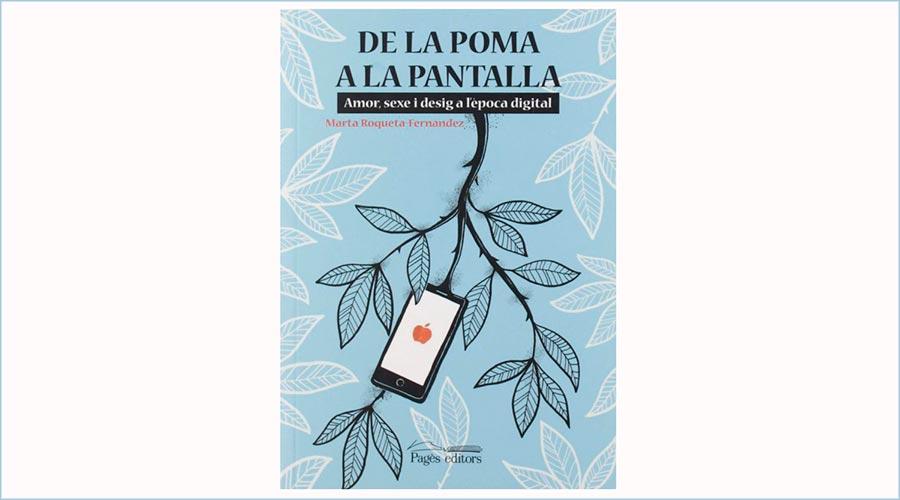 """Portada del llibre """"De la poma a la pantalla"""""""