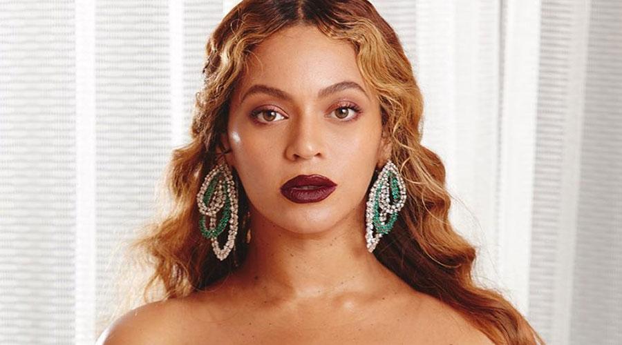 La cantant Beyonce en una imatge d'Instagram