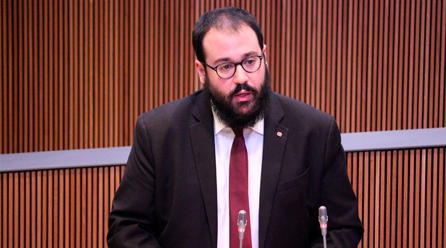 El conseller del PS, Carles Sánchez
