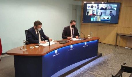 Els ministres Jover i Gallardo