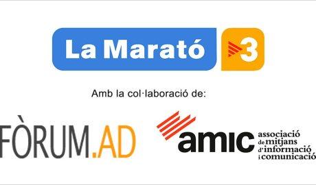 Fòrum.ad col·labora amb La Marató de TV3