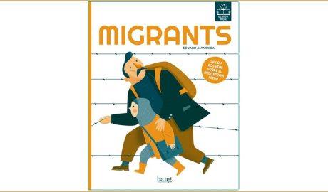 """Portada del llibre """"Migrants"""""""