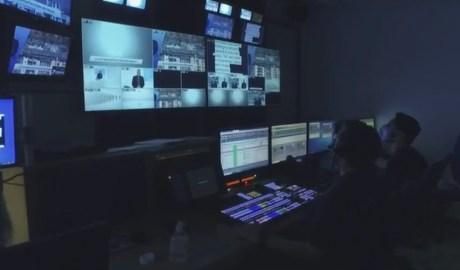 Sala de realització d'Andorra Televisió