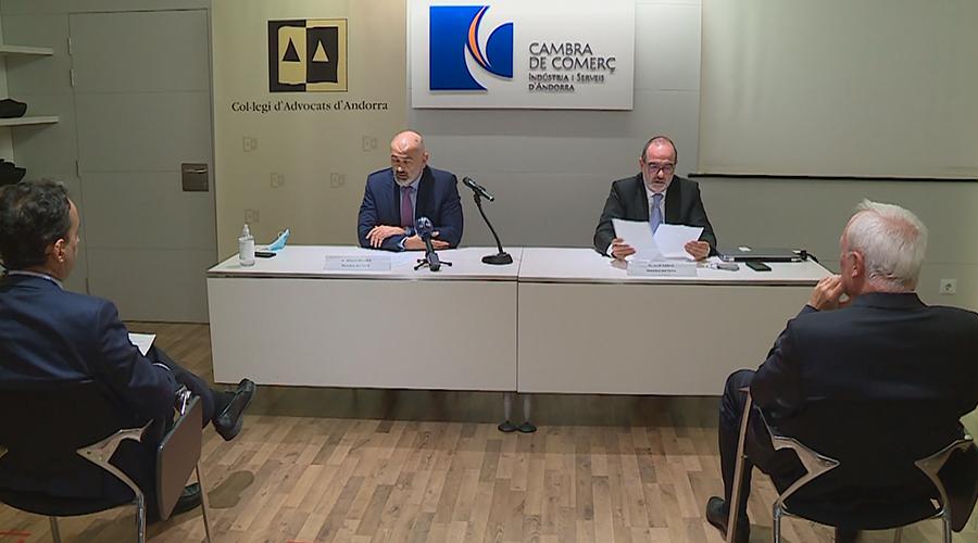 Presentació del Tribunal d'Arbitatge.
