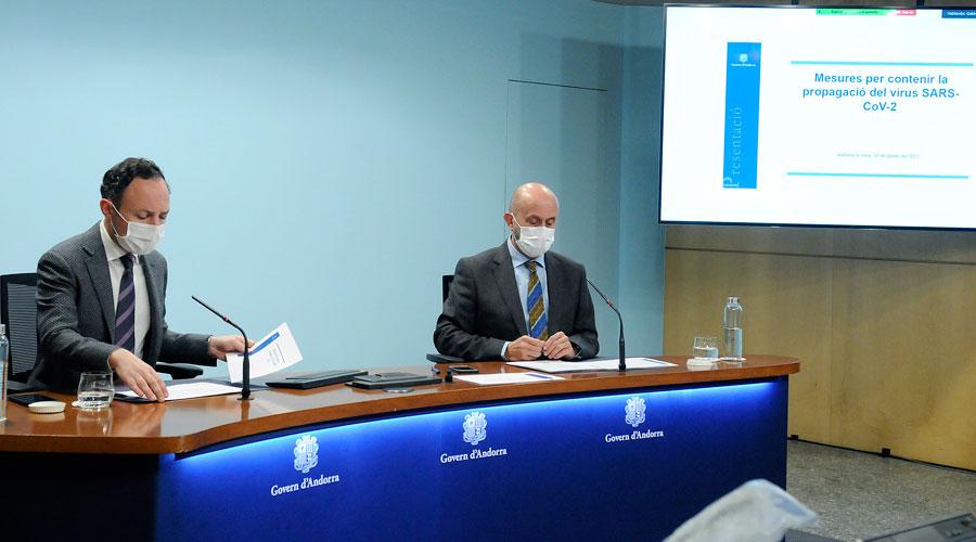 Xavier Espot i Joan Martínez Benazet