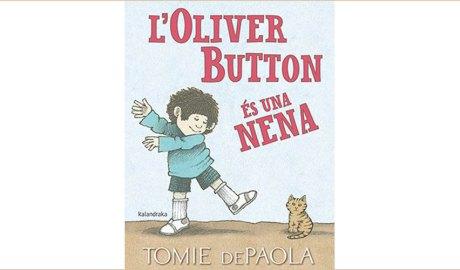 Portada dl llibre L'Oliver Button és una nena