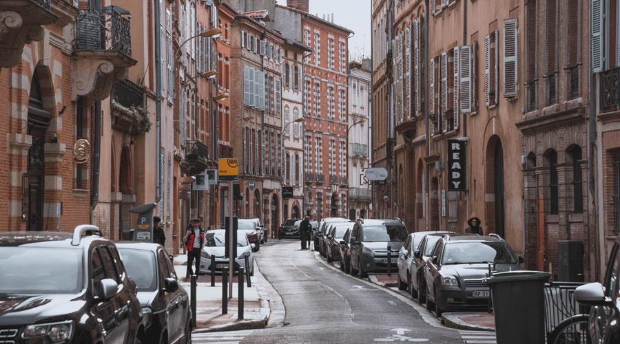 Un carrer de Toulouse