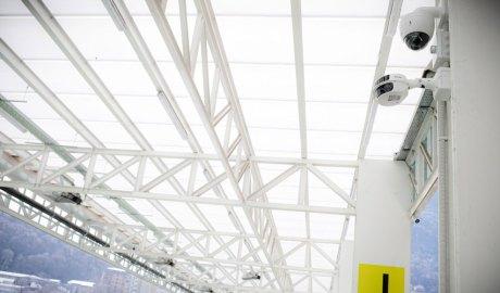 Càmeres instal·lades a l'Estadi Nacional
