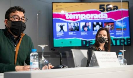 Miquel Canturri i Mireia Codina presenten la 58a Temporada de Teatre