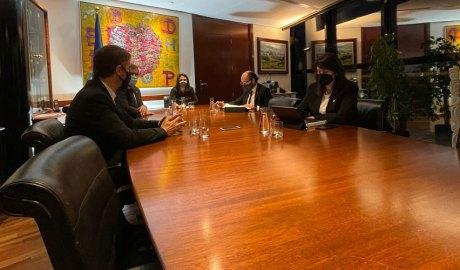 Rios, Rascagneres, Mas, el secretari del Comú d'Encamp i Vidal