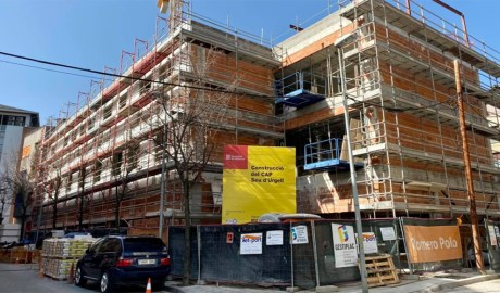 Les obres de construcció del CAP de la Seu d'Urgell