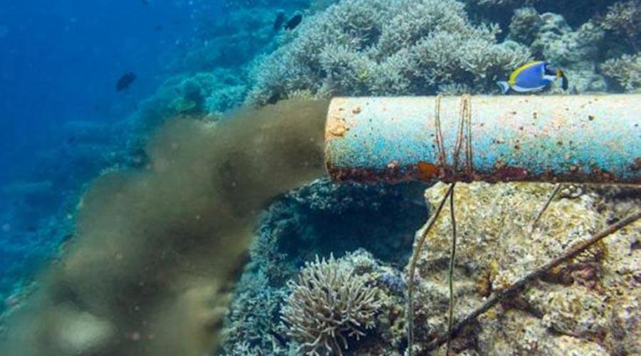 Abocament d'aigües residuals al mar