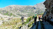 Via verda de la Vall Fosca. Carrilet de l'estany Gento