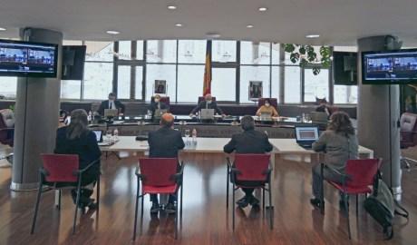Sessió del Consell de Comú de Canillo