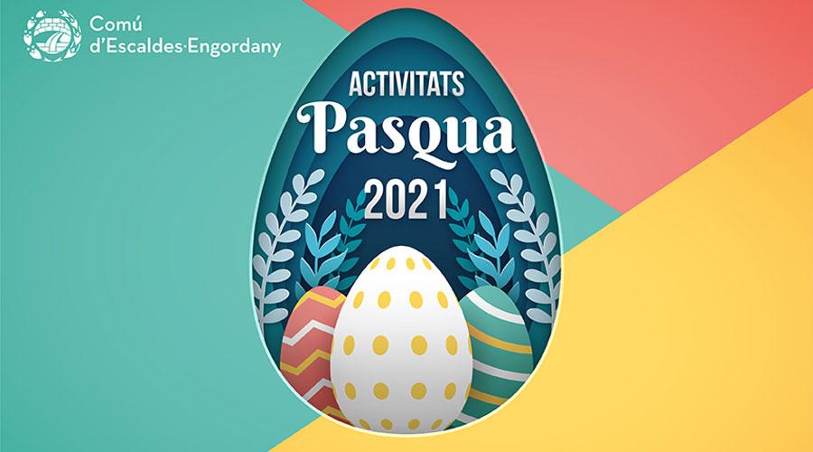 Publicitat de les activitats de Pasqua d'Escaldes-Engordany