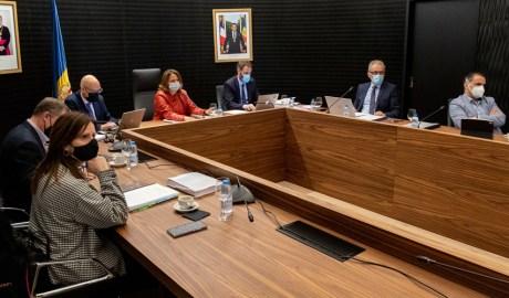 Els cònsols d'Escaldes-Engordany presideixen una reunió de cònsols