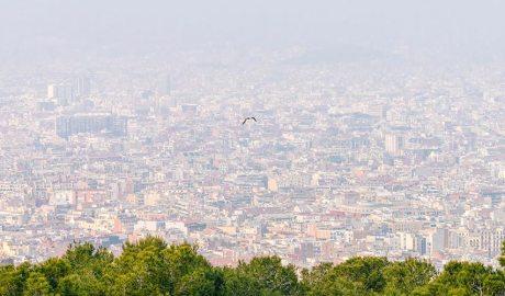 Contaminació a la ciutat de Barcelona