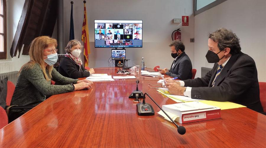 Reunió del Consell Comarcal de l'Alt Urgell