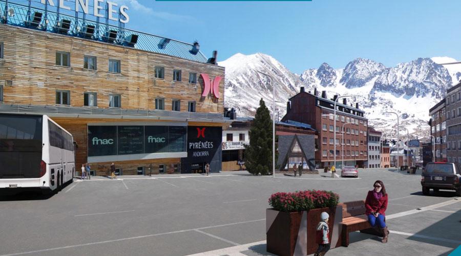 Projecció de les obres del carrer Sant Jordi del Pas de la Casa