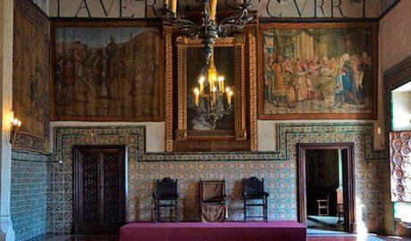 saló de Corones del palau ducal