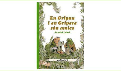 """Portada del llibre: """"En Gripau i en Gripere són amics"""""""