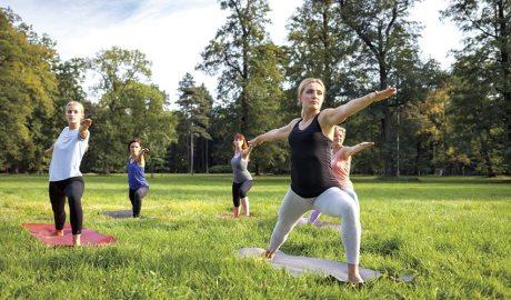 Exercici a l'aire lliure