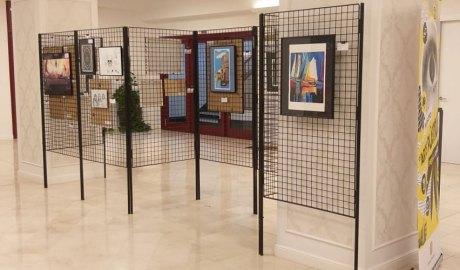 Exposició del IX Concurs d'Arts Plàstiques per a Joves . Foto: SFG