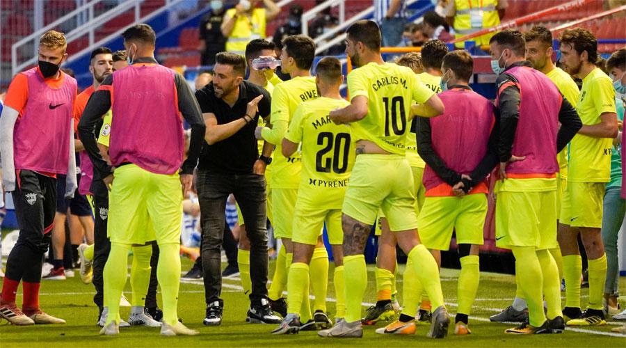 El FC Andorra en caure eliminat del pla off d'ascens a segona B