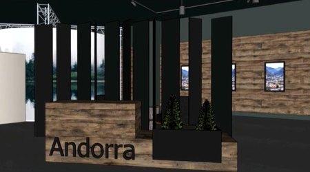 Imatge que tindrà el pavelló d'Andorra a l'Exposició Universal de Dubai