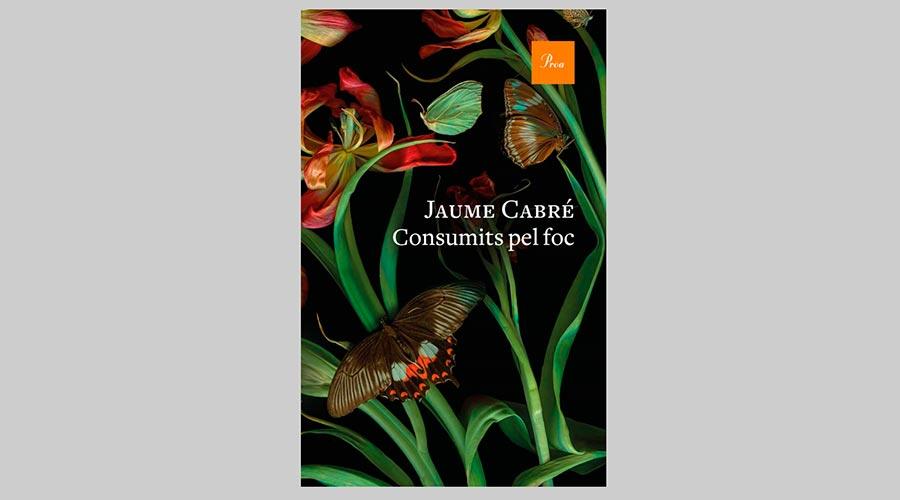 """portada del llibre """"Consumits pel foc"""""""