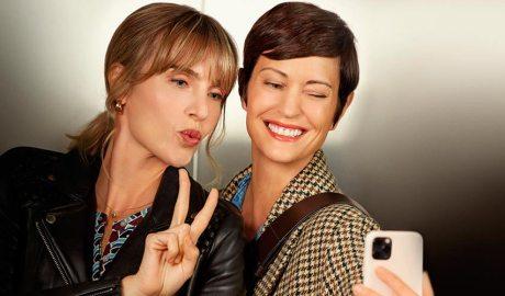 Selfie de dues dones