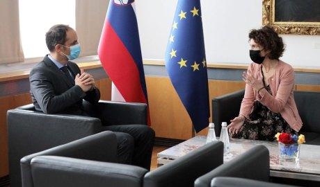 Anže Logar i Maria Ubach