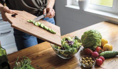 Alimentació saludable amb verdures