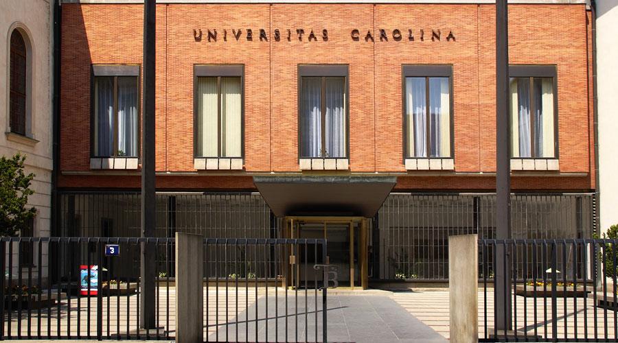 Façana de la Universitat Carolina de Praga