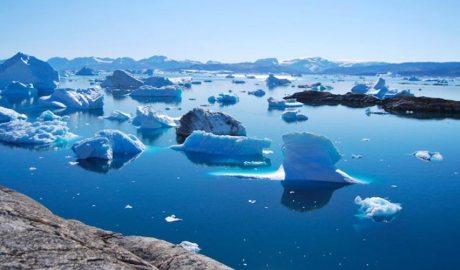 Les glaceres es dissolen en arribar al mar