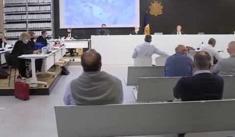 El judici del cas BPA a la sala magna de la Seu de la Justícia. Foto: ATV