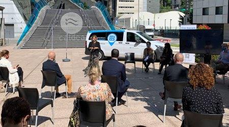 Presentació del servei de 'Bus a la Demanda' d'Escaldes-Engordany