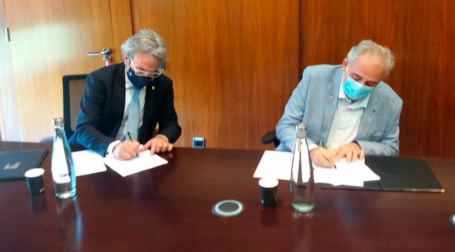 Ruiz i Lafuente signen un acord