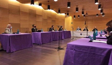 Sessió del Consell de Comú d'Encamp al Pas de la Casa