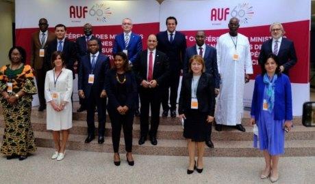Conferència de ministres d'Ensenyament Superior a la 18a Assemblea General de l'Agència Universitària de la Francofoni