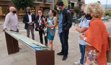 Visita d'avaluadors de la UNESCO al Geoparc Orígens