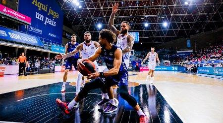 BC Andorra contra Reial Madrid