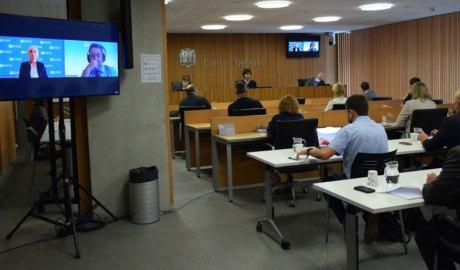 Experts de l'OCDE intervenen en la comissió d'estudi per a la sostenibilitat de les pensions de jubilació de la CASS